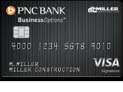 PNC BusinessOptions Visa Signature Credit Card